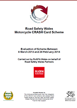 Evaluation of the Motorcycle CRASH Card Scheme in Wales